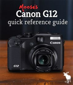 Canon G12 Tips & Resources