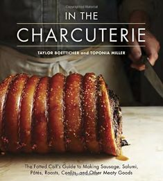 In The Charcuterie: The Fatted Calf's Guide to Making Sausage, Salumi, Pates, Roasts, Confits, and Other Meaty Goods by Taylor Boetticher,http://www.amazon.com/dp/1607743434/ref=cm_sw_r_pi_dp_dxoktb1DF5SXKCBT