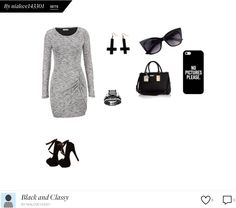 Classy Blk and gray