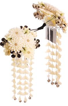 Kanzashi Japanese hair accessory