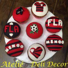 Cupcakes flamengo