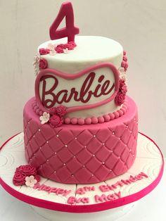 Barbie Birthday, Birthday Cake, Vintage Cupcake, Barbie Cake, Desserts, Food, Tailgate Desserts, Deserts, Birthday Cakes