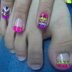 Attractive Looking Nails with Solar Nails Acrylic Nail Art, Toe Nail Art, Toe Nails, Wild Nail Designs, Toe Nail Designs, Indian Nails, Anchor Nails, Cute Pedicures, Solar Nails