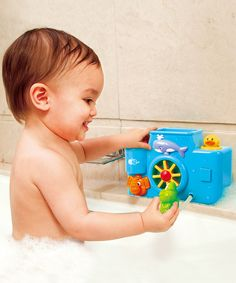 This Bath Animal Activity by Playgo is perfect! #zulilyfinds