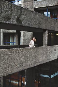 concrete collar concrete collar vconcrete collar Julie Eilenberger editorial at The Barbican for Bricks Magazine #architecture #fashion #architectureandfashion #ss14 #thebarbican #brutalistarchitecture