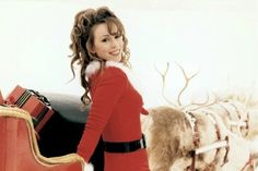 Just another lamb posting festive moments pictures of our queen dahling aka the best selling female artist of all time, Mariah Carey. Mariah Carey 1990, Mariah Carey Music, Mariah Carey Merry Christmas, Gq, Hip Hop, Debbie Gibson, Gym Tops, World Music, Music Videos