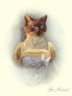 Portrait animalier photographique