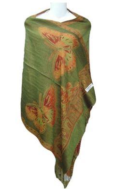 Butterfly Pashmina Shawl Wrap Scarf, One Size, Olive PacificPlex http://www.amazon.com/dp/B00AXDDJHU/ref=cm_sw_r_pi_dp_pUXQvb1BFK73K