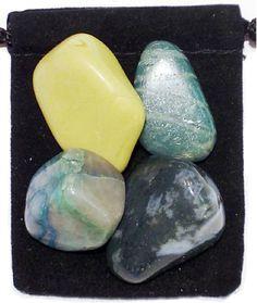DIABETES REGULATOR Tumbled Crystal Healing Set  by TheMagicIsInYou, $4.99