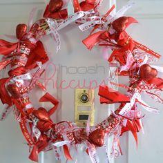 DIY Valentine's Day Wreath - The Samantha Show