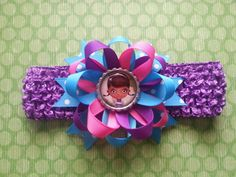 Doc mcstuffins headband... This can feature by bellecaps on Etsy, $5.75