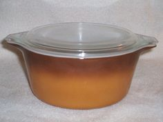 Pyrex Old Orchard 474 Casserole by thetrendykitchen on Etsy, $9.95