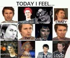 Today I Feel... #MUSE