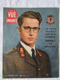 IMAGES POINT DE VUE DU MONDE 284 (1953) Baudouin 1er DE BELGIQUE fr.picclick.com