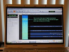 Decoding Ham Radio PSK-31 Digital Text Mode Using Ham Radio Deluxe (HRD) Software.