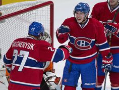 Chuckie and Gally Hockey Memes, Montreal Canadiens, Hockey Players, Nhl, Sports, Boys, People, Hs Sports, Baby Boys