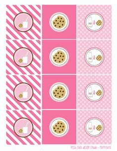 Milk & Cookies   Printables