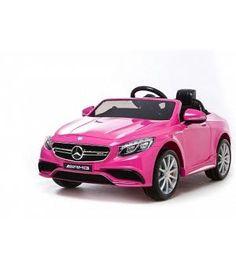Oferta coche eléctrico infantil - Mercedes Coupé S63 rosa