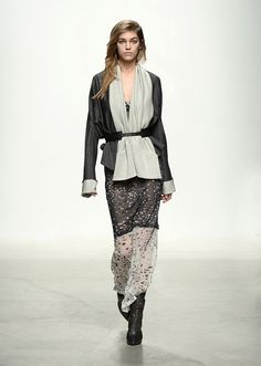 Look 33 / FW14 Leonard Fashion