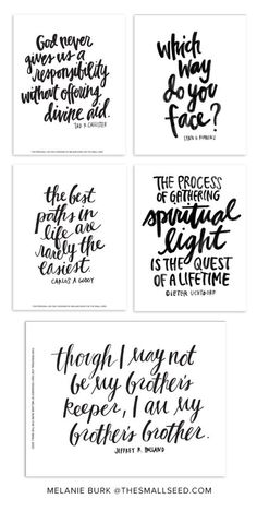 October 2014 General Conference Prints -- Melanie Burk  The best paths in life are rarely the easiest.