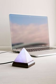 Pyramid Salt Lamp Urban Outfitters : COLOR CHANGING Mini Pyramid Himalayan Salt Lamp USB USD 18.00 Himalayan Salt Lamp Pinterest ...