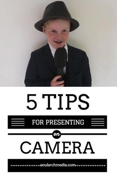 Five Tips For Presenting On Camera Like A Pro - and make hosting your videos so simple even a child could do it.