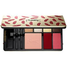 Shop Yves Saint Laurent Kiss & Love Edition Complete Make-Up Palette at Sephora. It features eye, cheek, and lip colors for an array of makeup looks. Make Up Palette, Lip Palette, Yves Saint Laurent, Sephora, Mascara, Matte Lipstick Brands, Ysl Beauty, Beauty Makeup, Makeup Lips