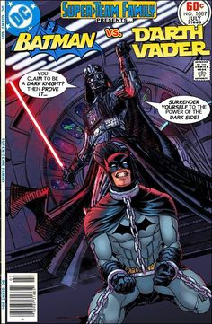 Super-Team Family: The Lost Issues!: Batman Vs. Darth Vader
