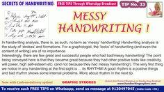 Handwriting Personality, Messy Handwriting, Personality Characteristics, Positive Traits, Handwriting Analysis, Palmistry, Human Behavior, Free Tips, Decoding