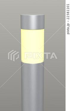 ガーデンライト シルバーのイラスト素材 [22381101] - PIXTA