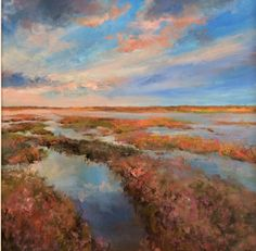Lavender Creeks by Molly Garnier at Lime Tree Gallery in Suffolk & Bristol, England List Of Artists, Pictures To Paint, Art Fair, Contemporary Artists, This Is Us, Art Gallery, Lavender, Lime, Artwork