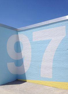 Klim Type Foundry · Fonts in use · NYC Beaches Environmental Graphics, Environmental Design, Typography Design, Branding Design, Rockaway Beach, User Experience Design, Monospace, Wayfinding Signage, Blue Aesthetic