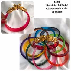 I want to buy this bangles Real Gold Jewelry, Gold Jewelry Simple, Jewelry Design Earrings, Gold Earrings Designs, Gold Bangles Design, Gold Jewellery Design, Antique Jewellery Designs, Antique Jewelry, Churidar