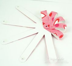 Create this on the gypsy. Great way to make paper bows