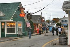 Love window shopping on this street in Kennebunkport Maine   # Pin++ for Pinterest #