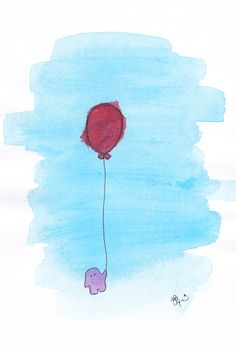 sometimes letting go just isn't that easy, balloon monster