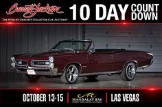 GTO 67 Pontiac Gto, Barrett Jackson Auction, Mandalay, Collector Cars, The World's Greatest, Muscle Cars, Vintage Cars, Las Vegas, Classic Cars