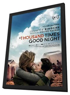 1,000 Times Goodnight (UK) 27x40 Framed Movie Poster (2014)