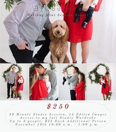 """102 mentions J'aime, 6 commentaires - Studio Photographer + Educator (@bcouturephoto) sur Instagram: """"HOLIDAY MINI SESSIONS! ... NOVEMBER 19TH 10:00 a.m. - 1:00 p.m. $250 {+$25 EACH ADDITIONAL PERSON}…"""""""