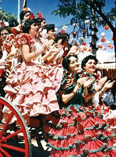 La Feria de Abril de Sevilla in the 1950s