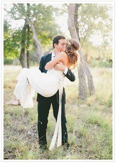 swept off her feet romantic wedding portraits