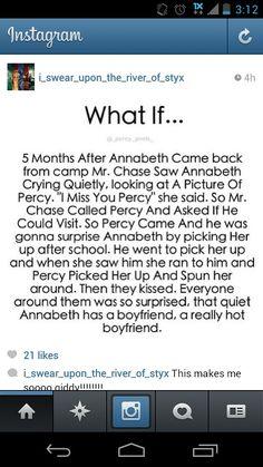 """""""...quiet Annabeth has a boyfriend, a really hot boyfriend."""""""