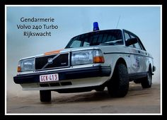 Police Vehicles, Police Cars, Volvo 240, Auto Service, Ambulance, Countries, Europe, Classic, Vintage