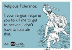 Don't have to tolerate.