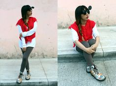 Mickey Mouse  hype me & and fan me on Lookbook.nu here ---> http://lookbook.nu/karencardiel