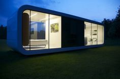 architecture mobile home tribute to peaceful living: elegant coodo