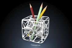 Neuron Cube – Pencil Holder – By Dizingof