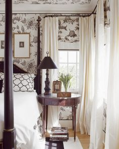 Looking for Traditional Bedroom and Master Bedroom ideas? Browse Traditional Bedroom and Master Bedroom images for decor, layout, furniture, and storage inspiration from HGTV. Airy Bedroom, Bedroom Black, Trendy Bedroom, Home Bedroom, Bedroom Furniture, Master Bedroom, White Furniture, Bedroom Ideas, Design Bedroom