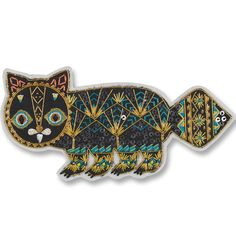 Putte Cat Brooch