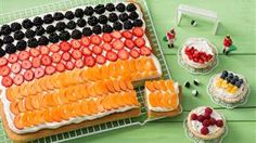 Rezept Deutschland-Kuchen à la Fantakuchen mit Schmand